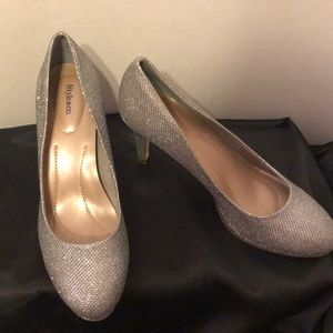 Style & Co Nikolet Closed Toe Silver Classic Pumps